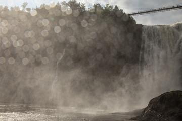 Mist Blast from Montmorency Falls #1