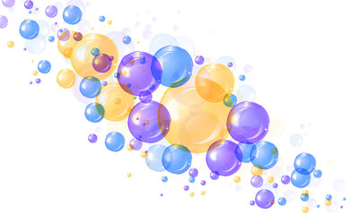 Bubble background abstract
