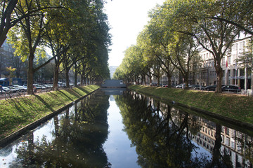 canal in Dusseldorf
