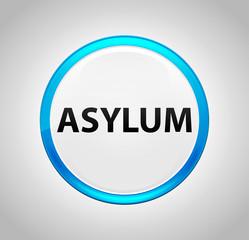 Asylum Round Blue Push Button