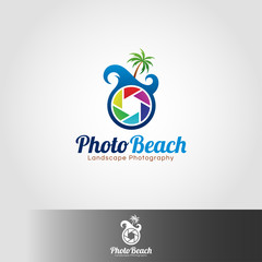 Photo Teach Logo template