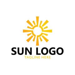 sun logo concept