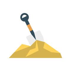 spade   soil   shovel