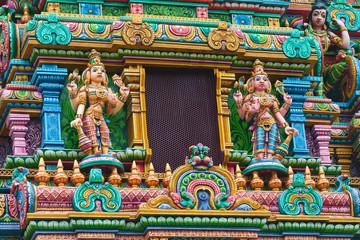 Deities at Sri Maha Mariamman