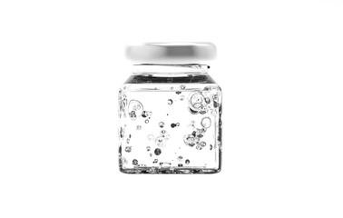 3d rendering carbonated water bottle