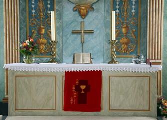 Altar in einer Kirche