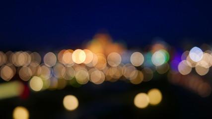 Blurred bokeh light.defocused.