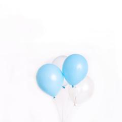 Baloons on white