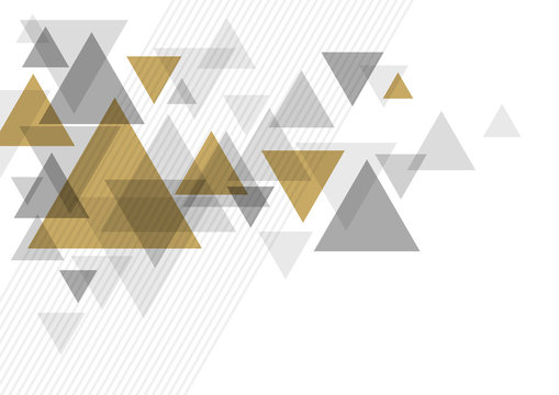 Abstract luxury background design of triangle vector illustration