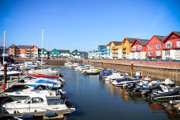 Exmouth Marina, Devon