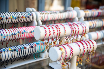 Fashion Bracelets for sale at the street vendor