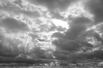 Cloudscape before rain