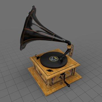 Art deco gramophone