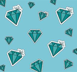 Diamonds background cartoons