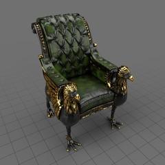 Griffin armchair