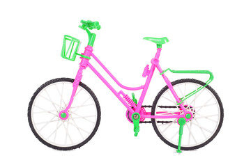 Toys - Female beautiful fashion pink bicycle