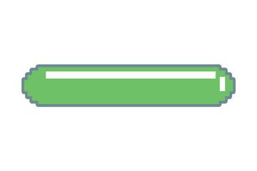 pixel video game energy bar