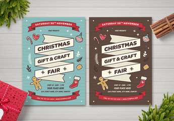 Christmas Fair Flyer Layout