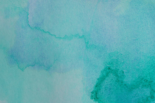 watercolor green texture background