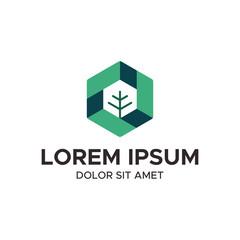 modern tree logo