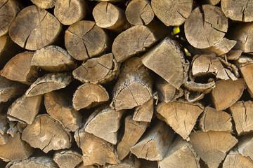 Hintergrund: Brennholz