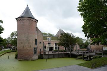 Foto auf Leinwand Schloss Schloss in Schagen