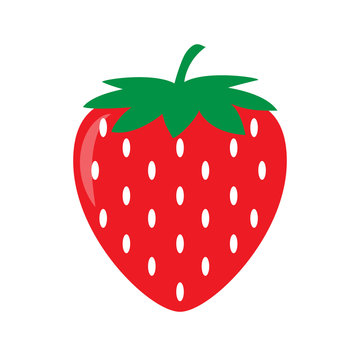 Garden strawberry icon