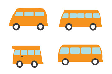 Набор автобусов