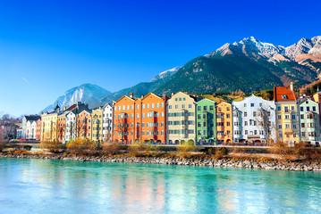 Acrylic Prints Europa Innsbruck cityscape, Austria