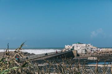 Morocco scenery desert ocean