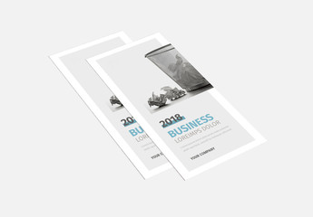 Corporate Trifold Brochure Layout