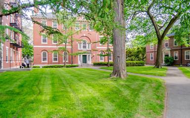 Inside the Harvard University Campus, Cambridge, USA