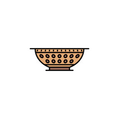 Bowl icon. Element of color ancient greece  icon for mobile concept and web apps. Colored Bowl icon can be used for web and mobile
