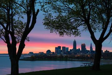 Cleveland Edgewater Pastel Sunrise