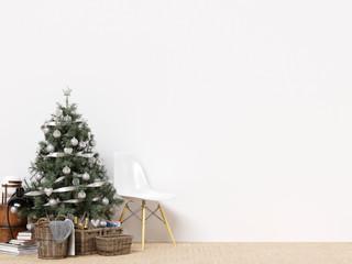 Decorative Christmas Interior Wall Background