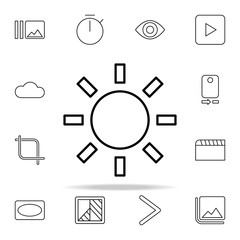 Camera plus sign icon. Image icons universal set for web and mobile