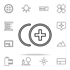 Camera sign icon. Image icons universal set for web and mobile