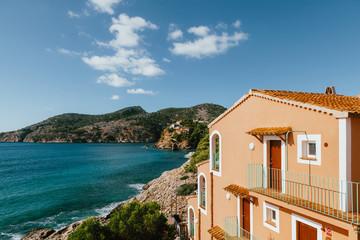 Beautiful cove in Majorca Island, Spain