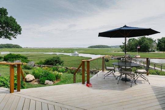 Porch View at Coastal Home