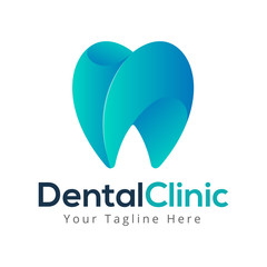 dental clinic clean doctor logo business