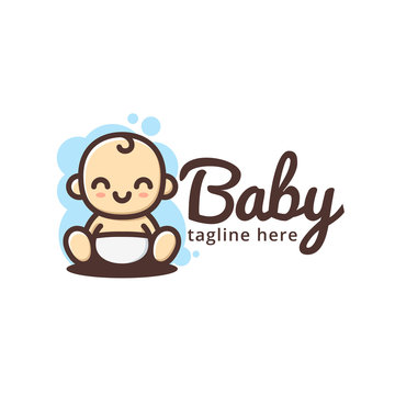 baby logo cute