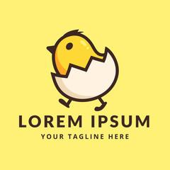little chicken egg logo