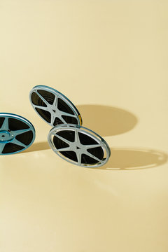 Vintage 8 mm tapes