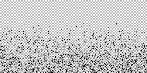 Scattered dense balck dots. Dark points dispersion