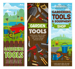 Gardening tools and farmer equipment