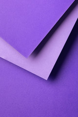 Ultra violet color of the year paper designs
