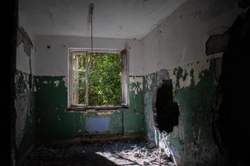 Abandoned building. Hara, Estonia