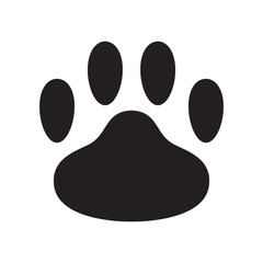dog paw vector icon logo bear cartoon illustration cat clip art french bulldog