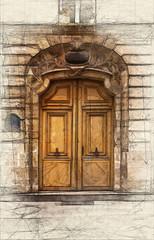Parisian door