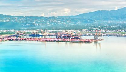 Port of Kingston Jamaica